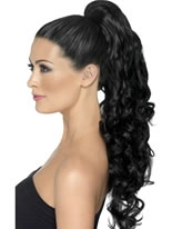 Black Divinity Clip On Hair Extension