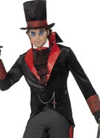 Adult Black Dracula Costume [31990]