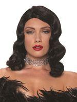 Adult Black Femme Fatale Wig