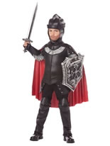 Child Deluxe Black Knight Costume [00389]