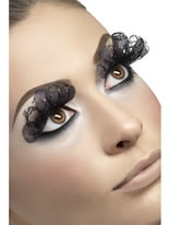 Black Lace Eyelashes [29348]