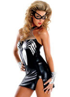 Black Spider Girl Deluxe Costume [C50258]