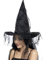 Black Witches Hat [34953]