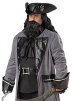 Plus Size Blackbeard Costume