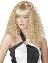 Blonde Disco Lady Wig