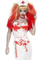 Adult Blood Drip Nurse Costume