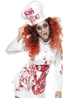 Adult Bloody Chef Costume [35864]