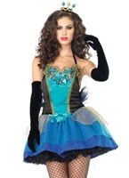 Blue Beauty Ladies Costume [83818]