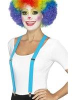 Blue Clown Braces