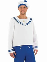 Blue Male Sailor Costume
