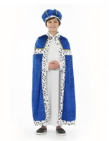 Child Blue Wise Man Costume