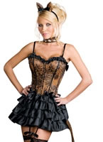 Adult Bonjour Kitty Costume