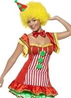 Adult Boo Boo the Clown Ladies Costume [39297]