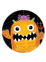 Boo Crew Monsters Paper Plates