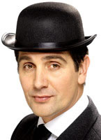 Bowler Hat Black Felt