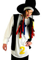 Adult Boy George 80s Pop Star Costume