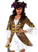 Buccaneer Beauty Costume [33243]