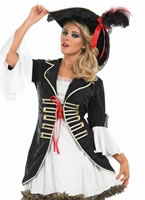 Buccaneer Pirate Girl Costume