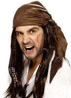 Buccaneer Pirate Wig [42074]