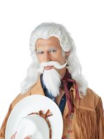 Buffalo Bill Wig, Moustache and Beard Set