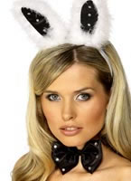 Bunny Ear Set Black