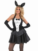 Adult Bunny Hostess Girl Costume