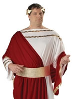Adult Plus Size Caesar Costume