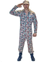 Camo Guy Costume