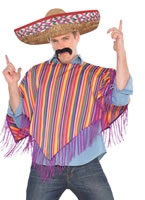 Mexican Poncho Costume [997104]