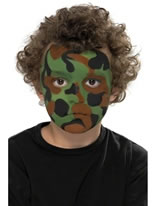Camouflage Make Up Kit