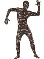 Adult Camouflage Second Skin Costume