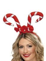 Candy Cane Headband [38327]