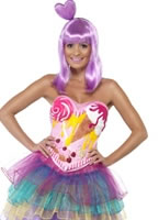 Adult Candy Queen Katy Costume