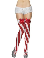 Candy Stripe Thigh Highs