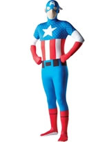 Captain America Second Skin Costume [880950]