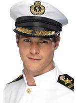 Captains Navy Hat [21734]