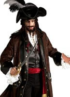 Caribbean Pirate Costume [56150]