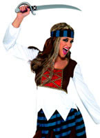 Caribbean Pirate Lady Costume [30845]