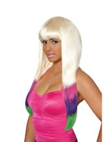 Nicki Minaj Colour Dipped Wig [70046]