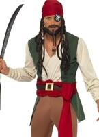 Adult Carribean Drunken Pirate Costume [30728]
