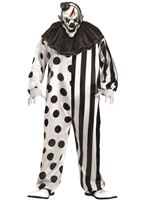 Adult Plus Size Killer Clown Costume [131515]