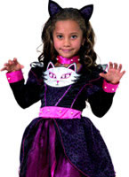 Cat Princess Childrens Costume
