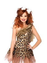 Adult Cave Girl Cutie Costume