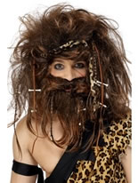 Caveman Wig And Beard Set [42079]