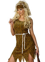 Adult Cavewoman Costume [22452]