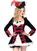 Charming Pirate Captain Costume [83792]