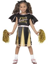 Cheerleader Bat Childrens Costume [35692]