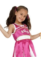 Child Cheerleader Childrens Costume