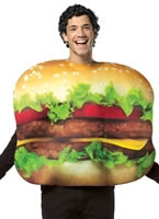 Cheesburger Costume