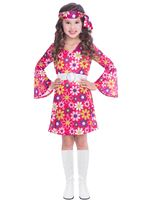 Child 60s Retro Girl Costume